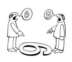 Pontos de vista diferentes... Pense nisso!