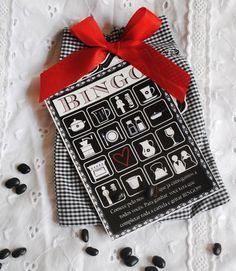 bingo - brincadeira para chá de cozinha