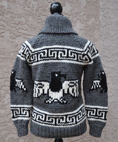 You searched for cowichan - Art of Yarn: Yarn, Fibre, Knitting Supplies & Books Cool Sweaters, Vintage Sweaters, Crochet Cross, Knit Crochet, Cowichan Sweater, Knitting Supplies, Knitting Projects, Fair Isle Knitting, Sweater Making