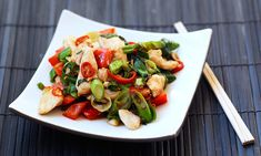 A low-calorie dish, which is full of flavour. Serve with rice or noodles to give a balanced meal.