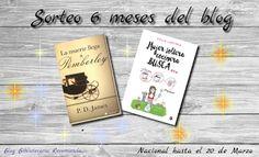 ¡¡Sorteo por los 6 meses del blog!! | Bibliotecaria recomienda...