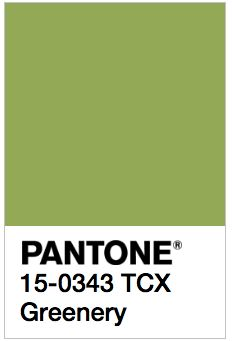 Pantone's 2017 Spring Colors are kale, hazelnut, lapis blue, niagara, primrose yellow, greenery, flame, island paradise, pink yarrow, and pale dogwood.