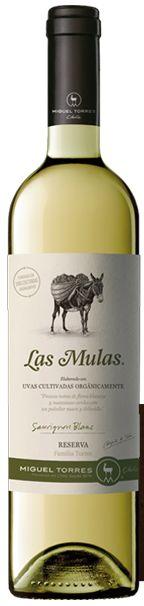 Llegan nuevos vinos desde tierras lejanas, pero producidos con todo el sabor, rigor y cariño del mundo ecológico. Retornamos al pasado para mirar al futuro.    De la mano de la prestigiosa bodega de Miguel Torres, nos llegan los rosados, tintos y blancos de Las Mulas. Vino blanco Las Mulas €10,25