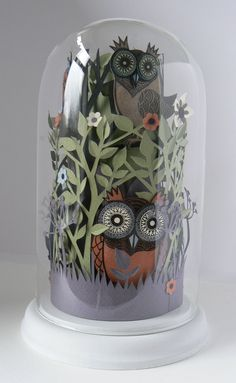 Helen Musselwhite 'Owl Hedgerow'