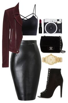 """""""Oh Love"""" by ellac9914 ❤ liked on Polyvore featuring River Island, Chanel, Balenciaga, Michael Kors, Smashbox, Retrò, women's clothing, women, female and woman"""