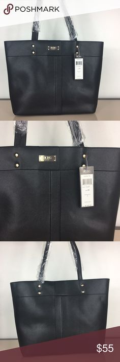 🌺BCBG Paris Set of 2 Bags BCBG Paris Tote bag Beautiful baby blue collar. Set of 2 bags. Includes tote and pouch Tote: 11.5'' W x 16.5'' H x 4.5'' D Pouch/Bag: 14'' W x 7.5'' H x 4.25'' D 10'' handle drop 50'' max. strap length Outer: man-made Lining: polyester Zip closure Interior: one zip and two slip pockets and center divider Exterior: one zip pocket Removable crossbody strap Imported New with tags attached, straps still in plastic BCBG Bags Totes