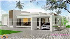 indian home design elevation using entrance door frame design and paint house number on wheelie bin for modern house designs new zealand Contemporary Stairs, Contemporary House Plans, Modern House Plans, Modern House Design, House Floor Plans, Home Design, Contemporary Wallpaper, Contemporary Building, Contemporary Cottage