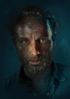 Rick Grimes by Richard Davies, via Behance