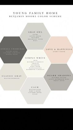 Soft Neutral Grays With Blush Accents Paint Is A Beautiful Color Scheme Family room Colors 2019 Living Room Colors With Brown Couch Living Room Paint Colors With Brown Furniture Two Color Combination For Living Room. House Color Schemes, Living Room Color Schemes, Paint Colors For Living Room, Paint Colors For Home, House Colors, Paint Colours, Gray Color Schemes, Small Bedroom Paint Colors, Calming Bedroom Colors