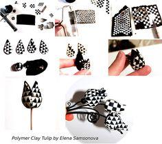 Polymer Clay Tulip Tutorial | Flickr - Photo Sharing!