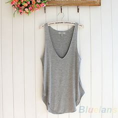 You know you want me, Just BUY ME already! Item Type: Tops Gender: Women Decoration: None Clothing Length: Regular Pattern Type: Solid Fabric Type: Broadcloth Material: Modal Tops Type: Tank Tops Mode