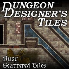 Alchemical Keep map tiles with dragon boss monster for virtual tabletop services.