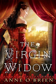 The US cover for The Virgin Widow.  Published by NAL.