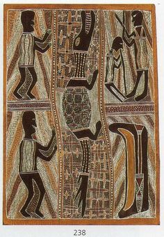 The aim of this article is to assist readers in identifying if their bark painting is by Narritjin Maymuru . Aboriginal Culture, Aboriginal People, Deco Paint, Cultural Significance, Aboriginal Painting, T Shirt Photo, Textiles, Australian Art, Indigenous Art