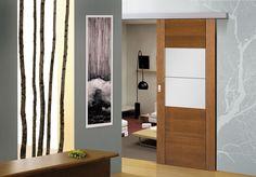 DVEŘE: Posuvné dveře do pouzrda, nástěnný systém | SIKO Divider, Room, Furniture, Home Decor, Bedroom, Decoration Home, Room Decor, Rooms, Home Furnishings