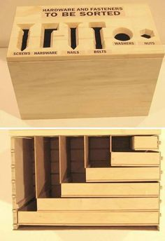 Hardware sorting box | MAKE