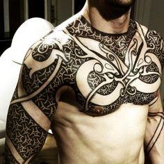 As incríveis tatuagens de Peter Madsen