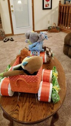 Tricycle and wagon diaper creation