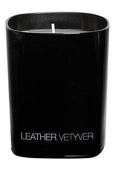 Leather Vetyver Candle
