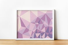 Pink and Purple Abstract Geometric Printable Wall Art, Digital print, Modern Home Decor, Living room wall decor, Minimalist wall art Geometric Wall Art, Abstract Wall Art, Last Minute Gifts, Printing Services, Printable Wall Art, Wall Art Prints, Digital Prints, Wall Decor, Pink