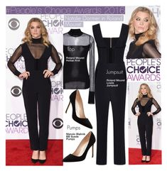 """#People's Choice Awards 2016-Natalie Dormer in Roland Mouret"" by kusja ❤ liked on Polyvore featuring Roland Mouret, Manolo Blahnik, RedCarpet, Stealherstyle, celebstyle, peopleschoiceawards and nataliedormer"