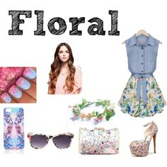 """Floral"" by nigina-gina on Polyvore"