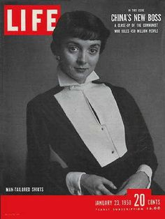 The Decade for Hollywood for Life magazine. The Korean war was covered quite thoroughly in Life magazine in the Life Magazine, Magazine Man, College Trends, Magazine Advert, Life Cover, Evolution Of Fashion, Tailored Shirts, Vintage Magazines, Artistic Photography