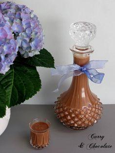 Licor casero de chocolate  – Homemade chocolate liqueur