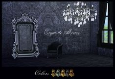 Adele Exquisite Mirror Conversion Yeah,i converted this mirror for TS4 because it's just AWESOME))) * Includes 5 Adele's colors in 5 different package files,so you can pick the one you want * Credit...
