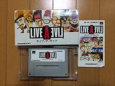 Live A Live Super Famicom Japan boxed set Squaresoft Square LiveALive