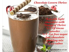 Combination of vanila ice-cream and chocolate flavour makes this beverage recipe a must try for this season. It is easy to make yet tastes great. This delightful shake will give the feling of oasis o a hot summer day Sugar Free Chocolate, Chocolate Recipes, Delicious Chocolate, Delicious Food, Thrive Shake Recipes, Wendys Frosty Recipe, Power Smoothie, Oat Smoothie, Chocolate Milkshake
