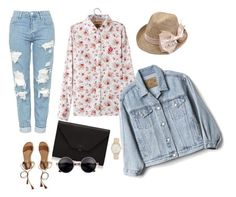 Без названия #3 by annina-marina on Polyvore featuring polyvore, fashion, style, Gap, Topshop, Hollister Co., Valextra, Nine West and clothing