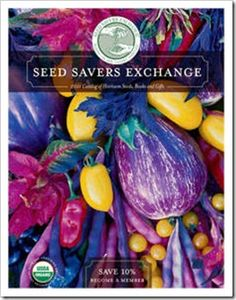 Seed Savers Exchange - One of my favorite seed sources, Because beating Monsanto's GMO monster and preserving our farming history is important!