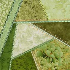 Simply Crazy Quilt 4 - Series 1  In the Hoop Crazy Patch designs