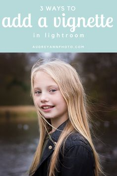 A Lightroom tutorial that guides you step by step through the THREE different ways you can get a vignette in Lightroom! | Click through to read the full tutorial and see the steps in action.