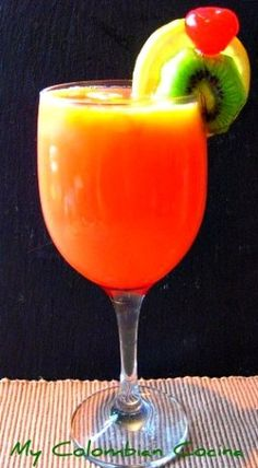 #Cocktail Rum Punch- Tropical Caribbean