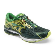 9c7b663460e95 Brooks Men s Ravenna 6 Running Shoes - June Bug Fern Green  Lime Punch (