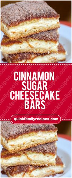 Cinnamon Sugar Cheesecake Bars #cinnamon #sugar #cheesecake #bars #easyrecipe #delicious #foodlover #homecooking #cooking #cookingtips