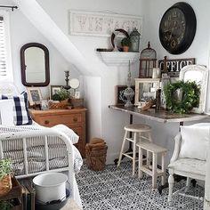 Vintage for guest bedroom