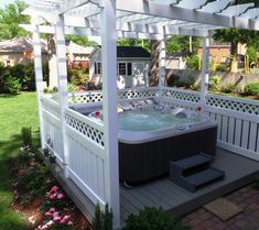 just to remember we can put the hot tub in the gazebo but I HATE how crowded it is.