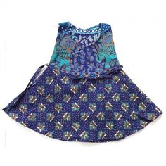 A Very colorful, very trendy frock for girls, the frock has a very eye catchy pattern of block prints on it. The material is pure cotton that's why it is very convenient to wear any time. It is a product which will definitely be loved by every kid. http://www.indishcraft.com/default/wearing/kids-colorful-frock-style-4.html