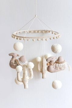 WANDERLUST NURSERY MOBILE by BohoBabyHeaven on Etsy