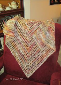 This shawl gets nothing but complements! Written instructions as well as a tutorial video, make crocheting this shawl simple!