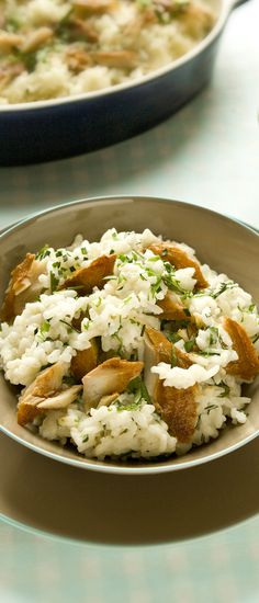 Smoked Mackerel Risotto - A hearty weekend treat that your family will just love! - www.fishisthedish.co.uk/recipes/smoked-mackerel-risotto