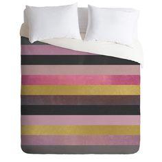 Elisabeth Fredriksson Soft Pink Duvet Cover | DENY Designs Home Accessories