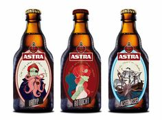 Astra Beer (Concept) on Packaging of the World - Creative Package Design Gallery