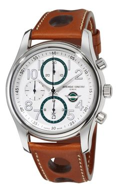 Luxury watches Frederique Constant Men's FC-392HSDG6B6 Healey automatic Silver Chronograph Dial Watch