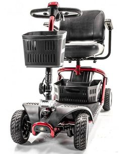 Scooter Drawing, Powered Wheelchair, Steel Rims, Large Storage Baskets, Electric Scooter, Back Seat, Mobility Scooters, Technology, Step
