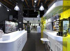 Farmacia Lazzarin, Italie.  Réalisée par notre filiale Mobil M Italie.