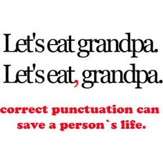 Yes, commas are important.